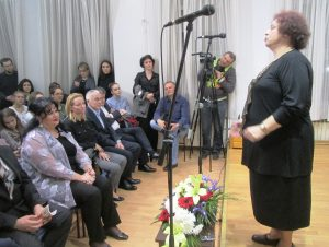 Prof Vesna Krsic Skulic na otvaranju takmicenja solfedjista