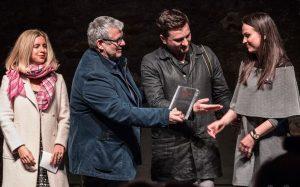 Sa kolegom Brankom na dodeli visokog svetskog priznanja