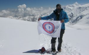 Zoran Pavlovic na jednom od vrhova Himajala