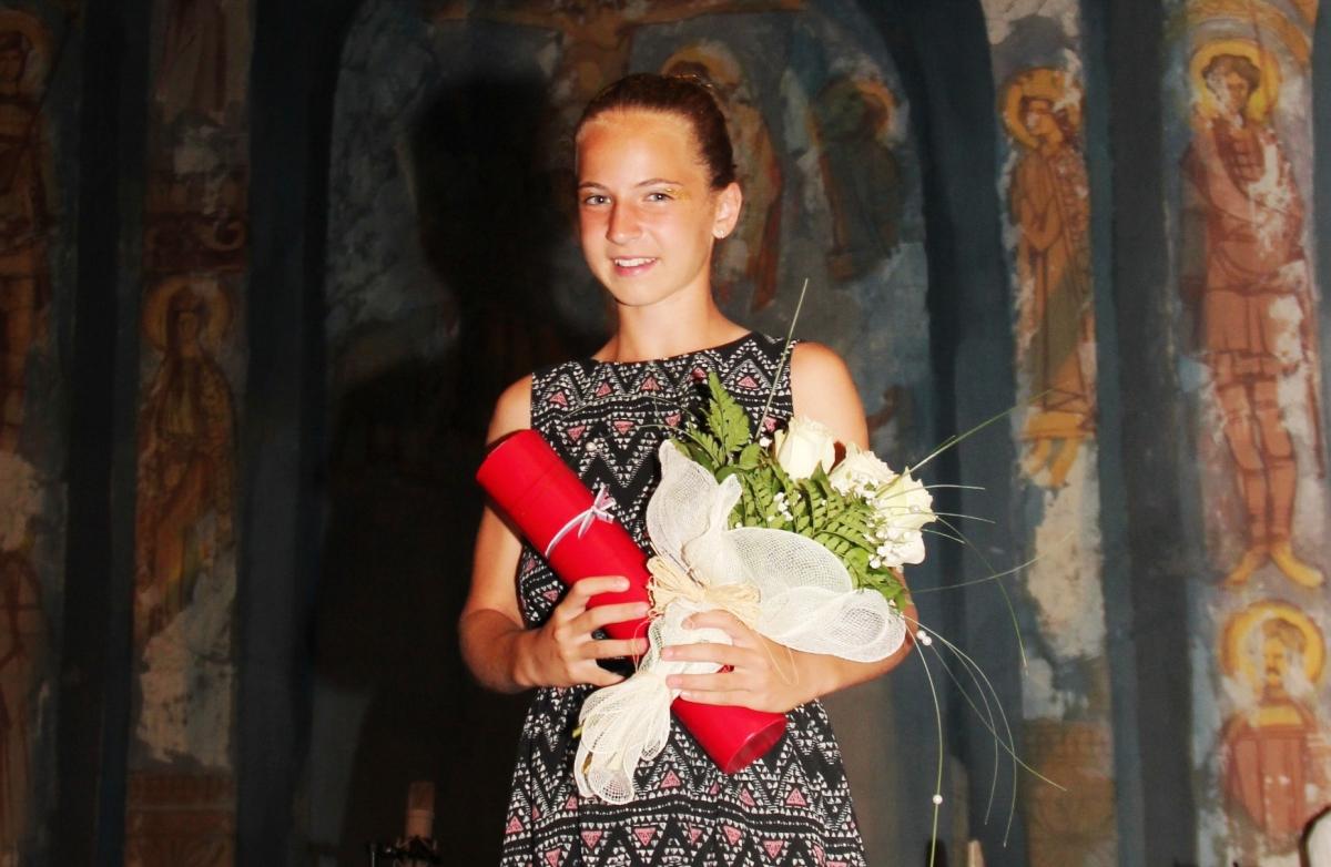 Дванаестогодишња Јована најмађи добитник награде