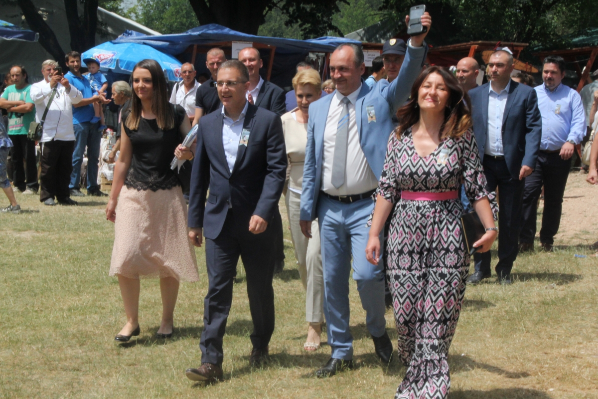 Стефановић и Павловић са сарадницима долазе на Сабор