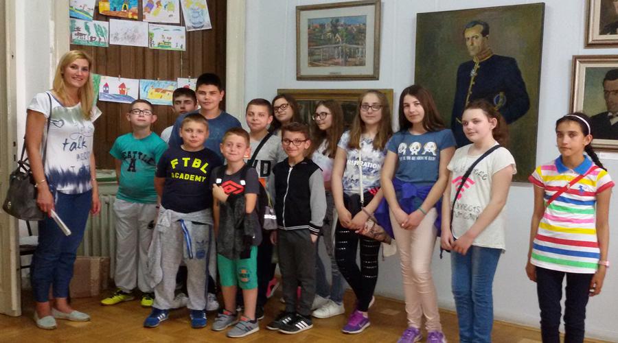 Учесници дечије ликовне колоније